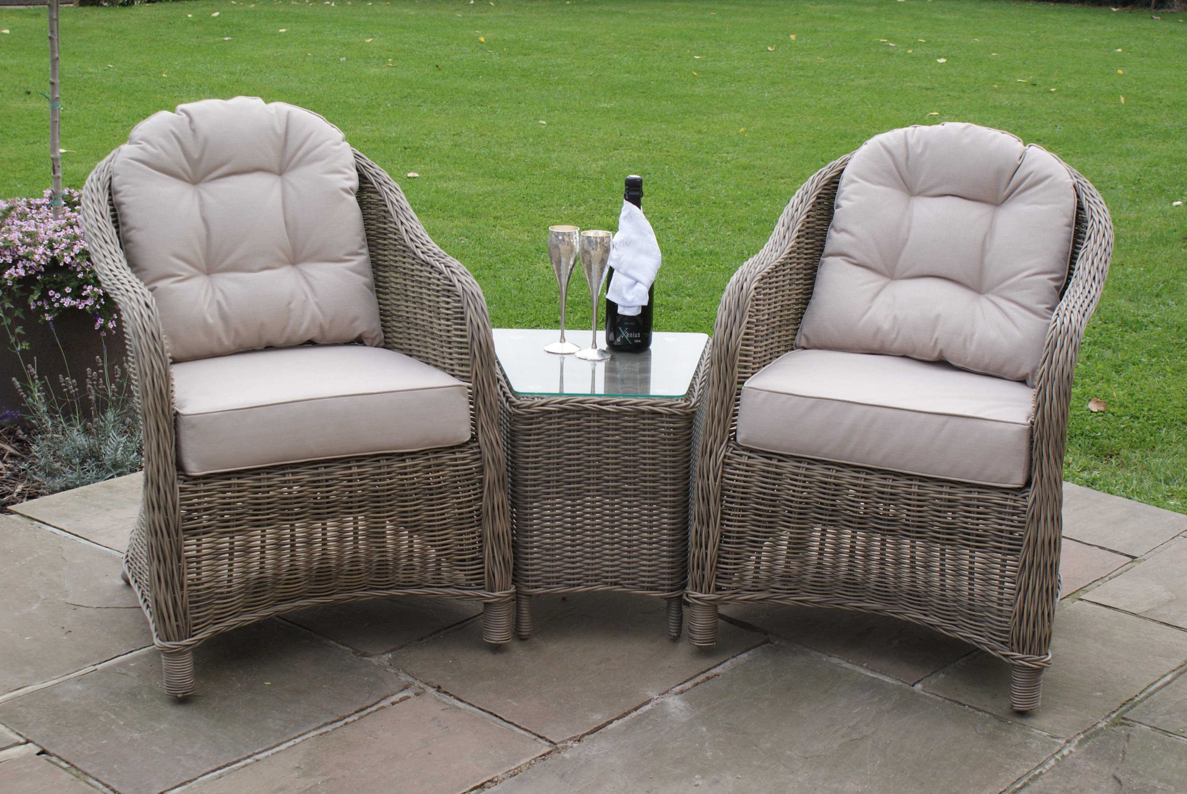 Outdoor Winchester 3pc Lounge Set