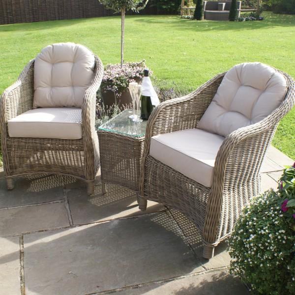 Winchester 3pc Garden Lounge Set