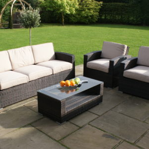 Kingston 3 Seat Outdoor Sofa Set
