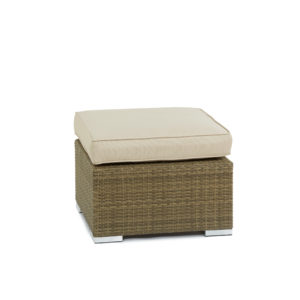 Tuscany Weave Footstool with Cushion