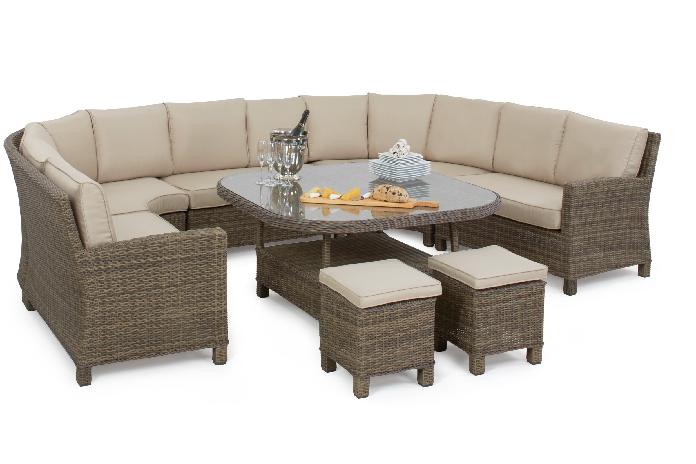 Winchester Deluxe Corner Dining Set Crownhill