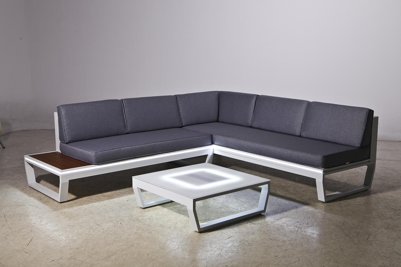 Venus LED Corner Sofa Set