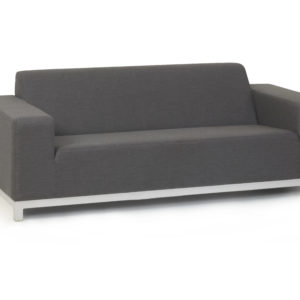 Devane grey 2 Seat Sofa Set