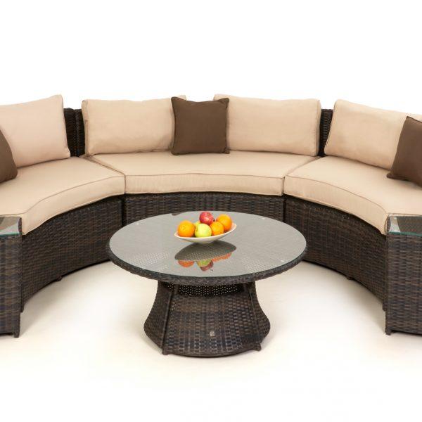 Half Moon Garden Sofa Set