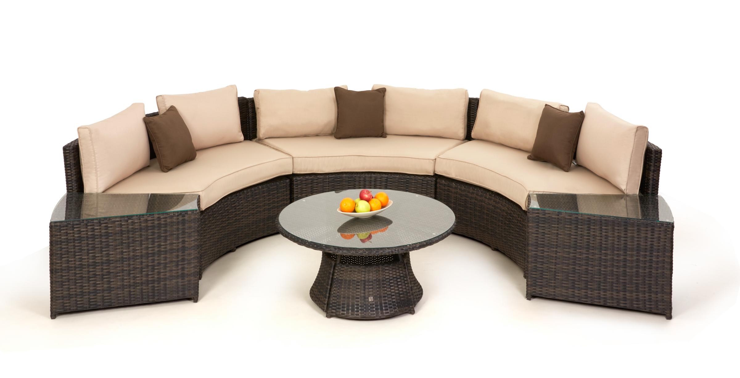 Half Moon Sofa Set Crownhill