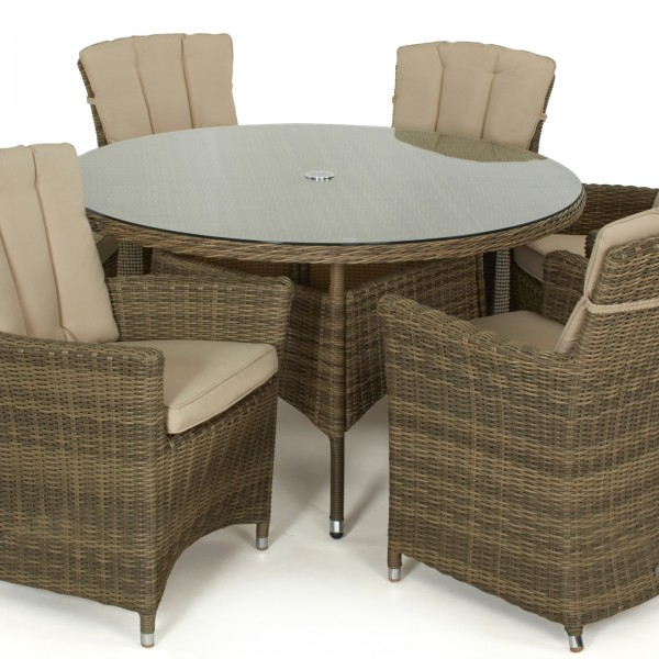 Winchester 6 Seat Dining Set with Carver Chairs
