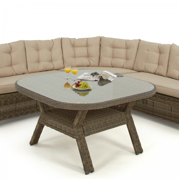 Indoor/Outdoor Winchester Rounded Corner Dining Set